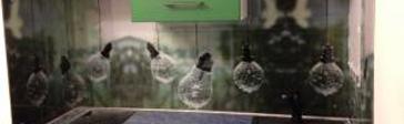 лампочки на стеновой панели